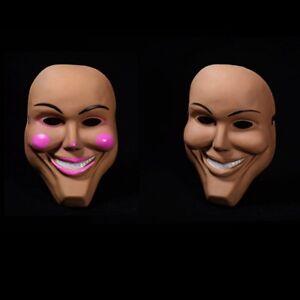 Kiss Me God Fancy Smiling The Purge Grin Halloween Mask Film Movie Horror Dress