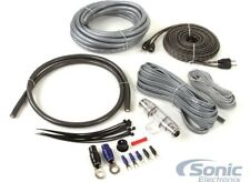 Belva BAK42BK Complete 4 Gauge Amplifier Wiring Kit W/rca Interconnect Cable