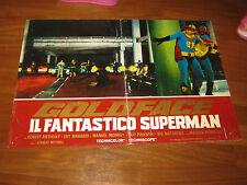 FOTOBUSTA 1967,Goldface Il fantastico superman,Bitto Albertini,Santoni AUTO CAR
