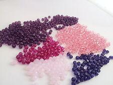 Swarovski 5000 round 4mm beads WHOLESALE LOT 600 mixed Pink/ Purple barg68