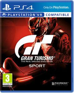 Gran-TURISMO-SPORT-ps4-PLAYSTATION-4-videogame-NUOVO-amp-OVP-spedizione-lampo