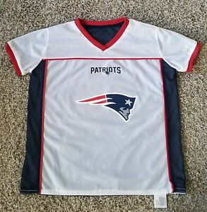 Details about NFL New England Patriot Play 60 Reversible Flag Football Jersey-Youth Size L
