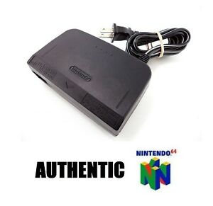 Nintendo-64-Power-Supply-AC-Adapter-Original-Charger-Cable-Cord-Authentic-N64