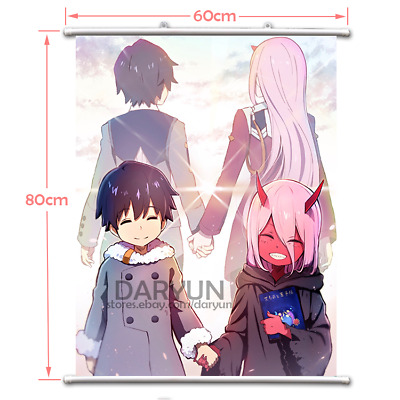 """Hot Japan Anime Darling in the FRANXX Home Decor Poster Wall Scroll 8/""""x12/"""" P278"""