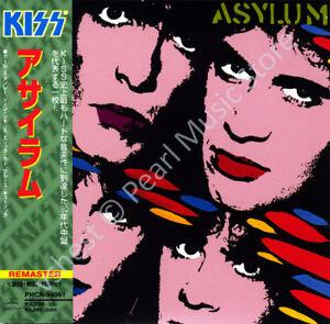 KISS ASYLUM CD MINI LP OBI Stanley Simmons Frehley Criss poster oop old stock