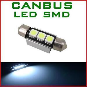 LAMPADINA-FESTONE-3-LED-SMD-BIANCHE-C5W-CANBUS-NO-ERRORE-TARGA-ABITACOLO-36MM