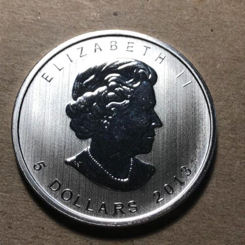 2013 Canada $5 Dollar Antelope 1 Ounce .999 Silver Coin