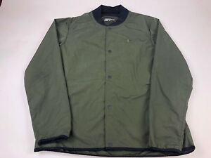 NIKE ENMY COACHES GOLF BOMBER JACKET-777744 325-OLIVE ARMY GREEN ... ad453ddde