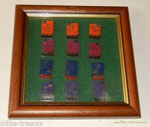 RARE-Cadre-vitrine-PIN-039-S-KODAK-LILLEHAMMER-Jeux-Olympiques-OLYMPIC-GAMES-1994