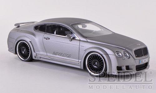 Maravilloso modelcar Hamann Bentley Imperator 2011-grigio De Metal. - 1 43-Lim. Ed.