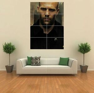Jason Statham Movie Actor Giant Wall Art Poster Print