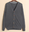 Mens-Cardigan-Cotton-Blend-Knitted-Sweater-Formal-Casual-V-Neck-Single-Breasted thumbnail 13