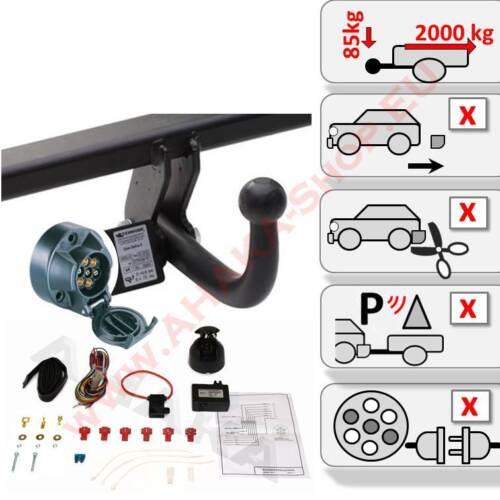 ATTELAGE VW PASSAT 2005-2010 Attelage de remorque avec es7 prééclampsie aide au stationnement Fermeture