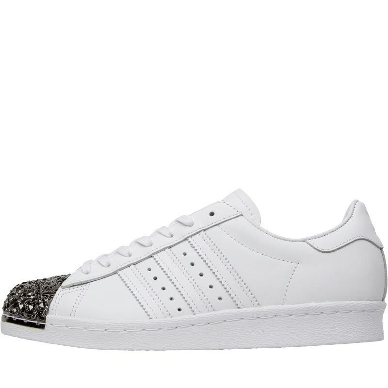Adidas Originals Womens Superstar 80s 3D Metal Toe Trainers White 7.5 UK 41.3 EU