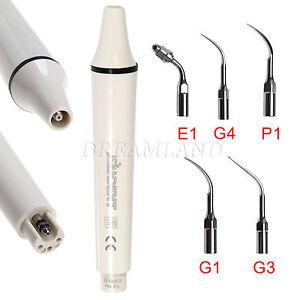 Dental-Manipolo-Ablatore-Ultrasonic-Scaler-Handpiece-EMS-WOODPECKER-amp-amp-5-Tips-SzIT
