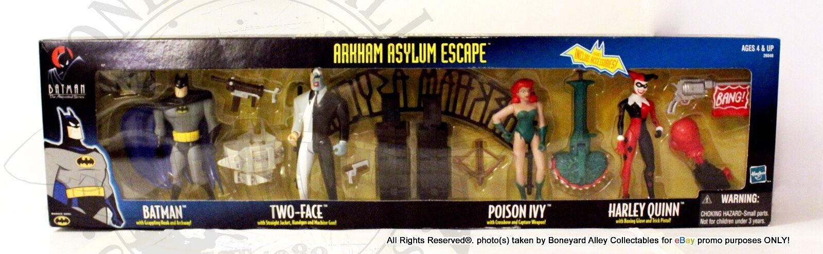 BATMAN TRU Exclusive ARKHAM ASYLUM ESCAPE MISBNEWRARE-HASBRO