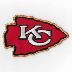 Kansas-City-Chiefs-Red-Iron-on-Patches-Embroidered-Patch-Applique-Badge-Sew-FN