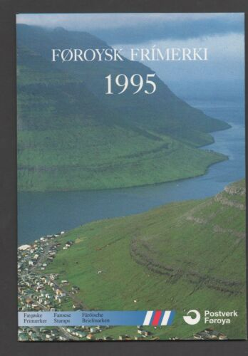 Faroe Islands 1995 Post Office Yearpack unmounted mint Stamps complete superb