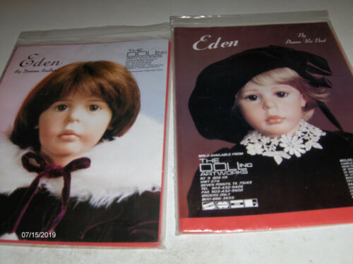 Doll Artworks Patterns and 1 Expressions Pattern
