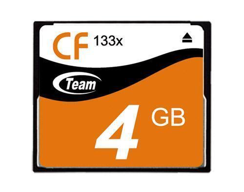 4GB Team 133X CF CompactFlash memory card
