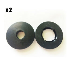 2x Car Round Floor Mat Clips Anti Slip Fix Grip Clamps For