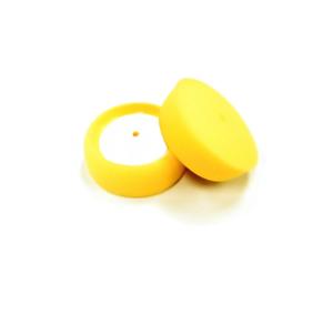 """2PK Buff and Shine 330G 3/"""" X 1.25/"""" Yellow Foam Grip Polishing Pad"""