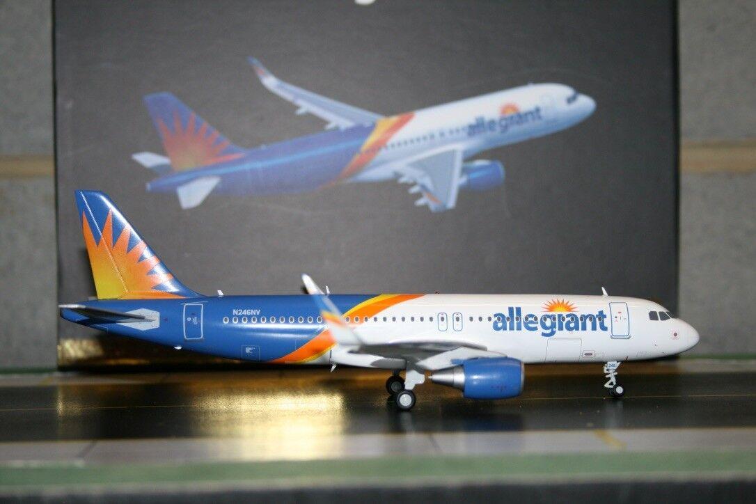 Gemini Jets  1 200 Allegiant Air Airbus A320-200 N246NV (G2AAY664) Die-Cast Model  promotions promotionnelles