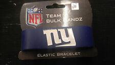 New York Giants Logo Bulk Bandz Elastic Wrist Band Bracelet