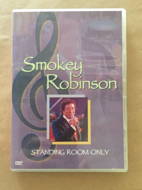 SMOKEY ROBINSON STANDING ROOM ONLY DVD IN EXCELLENT Condition
