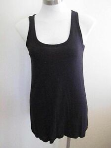 Ladies-Black-Long-Top-Size-10-BRAND-NEW