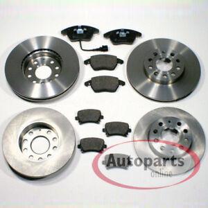 vorne für VW Vento Bremsscheiben Bremsen Klötze Beläge