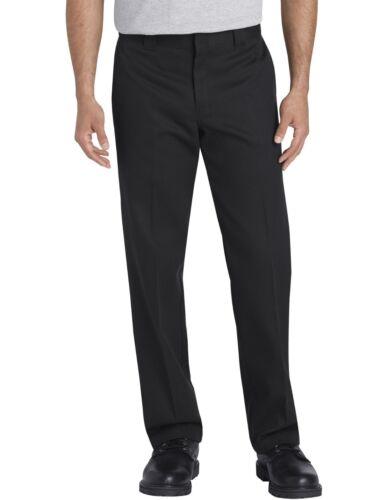 Dickies Mens Black FLEX Slim Fit Tapered Leg Work Pants 830FBK