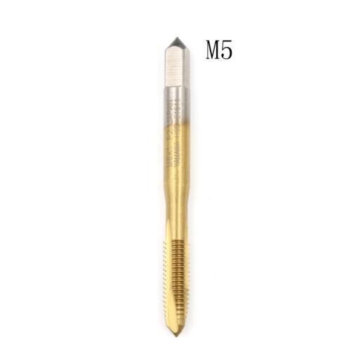 M2//M2.5//M3//M3.5//M4//M5//M6//M8 Hss Metric Straight Flute Thread Screw Tap Plug JF