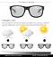 Indexbild 6 - Männer Photochrome Polarisierte Sonnenbrille uv400 Quadrat Outdoor Driving Glasses HOT