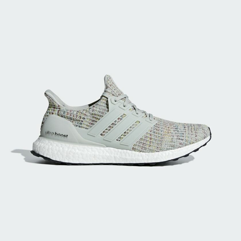 Adidas Ultra Boost 4.0 Grey Multi-color Running shoes Mens -CM8109