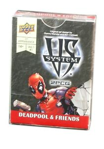 Upper Deck Entertainment, VS SYSTEM, Deadpool & Friends Card Game Expansion new
