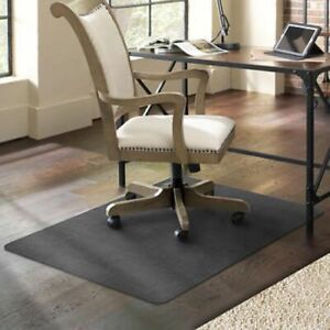 """NEW ES Robbins TrendSetter® Designer Chair Mat 35"""" x 47"""" with Charcoal Pattern"""