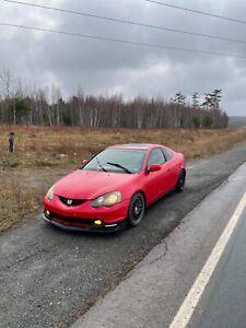 2003 Acura RSX black