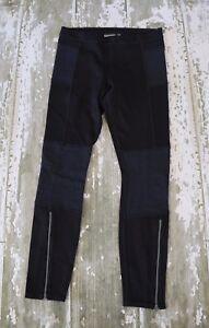 Athleta Negro Trail Setter Moto Leggings Pantalones Deportivos Movimiento Negro Elastico 6 Ebay