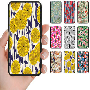 For-Samsung-Galaxy-Series-Floral-Pattern-Print-Mobile-Phone-Back-Case-Cover-2