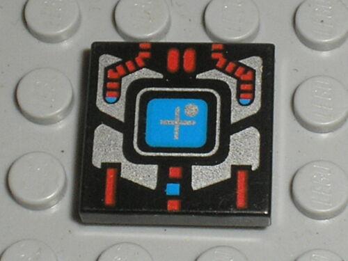 LEGO Espace Space tile ref 3068bp51 Set 6939 6949 6180 6959 1785 2161 6835 ...