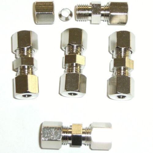 10x Bremsleitungsverbinder für Bremsleitung ohne zu bördeln Ø 4,75mm W
