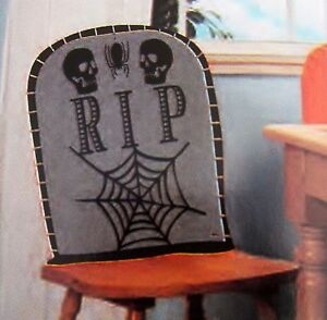 Super Details About Tomb Stone Chair Cover Halloween Party Rip Graveyard Skeleton Haunted House Seat Caraccident5 Cool Chair Designs And Ideas Caraccident5Info