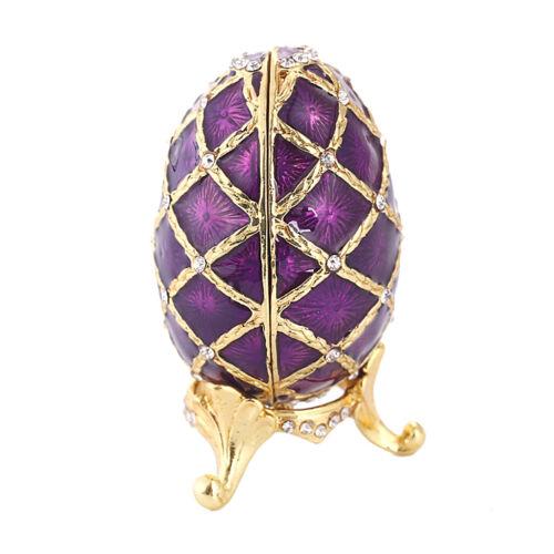 broches, 1 pièce œuf Coffret à bijoux pour bagues d/'arrêt bracelets