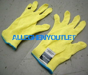 1 Pair Womens Sperian KV13AL 13 Cut LIGHT WEIGHT 100% Kevlar Work Gloves S / M