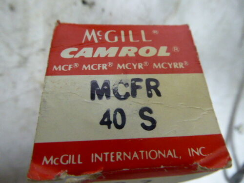MCFR 40 S MCFR40S McGill Crowned Cam Follower New