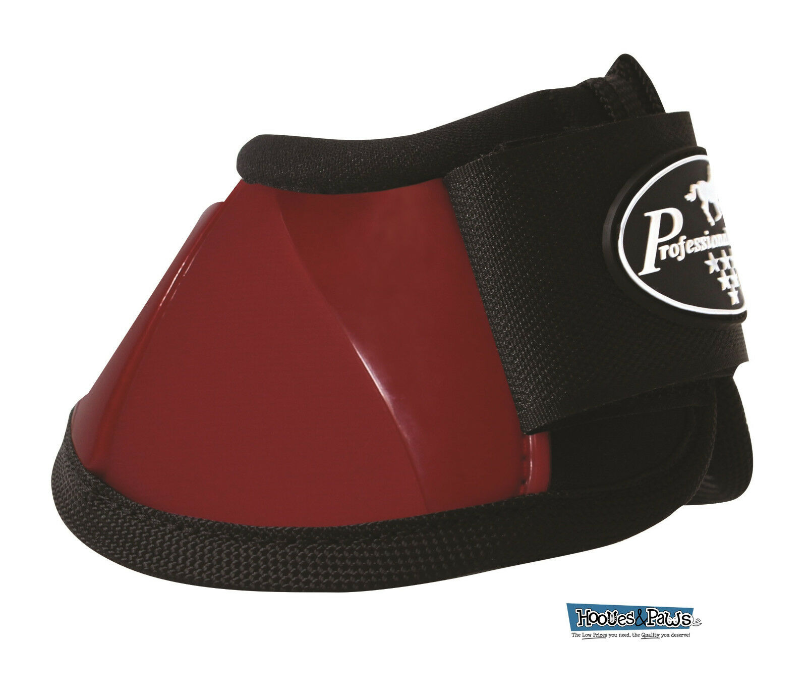 Professionals Choice Horse Spartan Overreach Ballistic Bell Boots Crimson Red