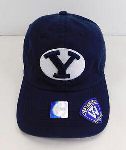 cbb62bc1539 Image is loading BRIGHAM-YOUNG-University-Cougars-BYU-Logo-HAT-Adjustable-