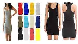 BNWT Ladies Women Bodycon Mini Summer Dress Size 8 _ 10 _ 12 _ 14 _ S/M _ M/L