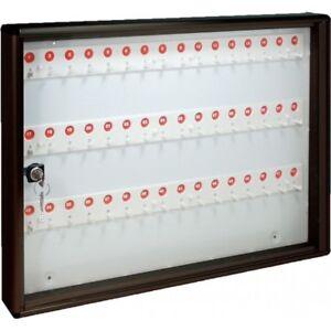 Schaukasten-Keychain-48-Schluessel-Aluminium-Gusseisen-Alubox-Buero